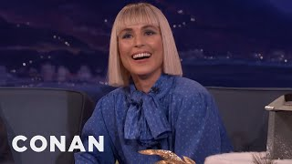 Noomi Rapace Has A Very High Tolerance For Pain  - CONAN on TBS