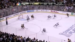 Bruins-Penguins Game 3 2013 2OT Conference Finals w/Goucher & Beers 6/5/13