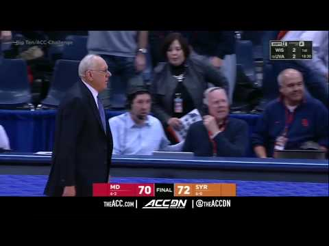 Maryland vs Syracuse College Basketball Condensed Game 2017