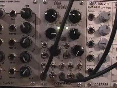 Livewire Dalek Modulator Demo