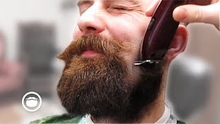 Bearded Guy Gets an Epic Mustache Transformation   Dave Banks