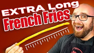 Long French Fries - The Super Long French Fry Japanese Trend