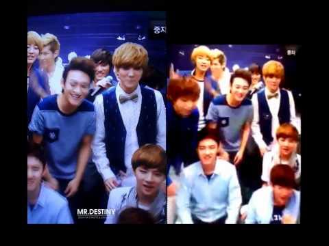EXO's singing Karaoke