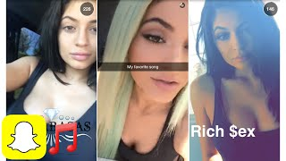 Kylie Jenner Song Compilation Snapchat | Kylie Snaps