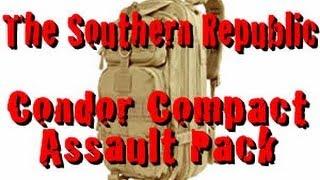 Condor Compact Assault Pack - Full Review - EDC Bag - Go Bag - Get Home Bag