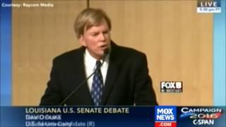 David Duke Rants Against the Jews at Louisiana Senate Debate