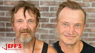 HOMELESS MAN MAKEOVER COMPETITION