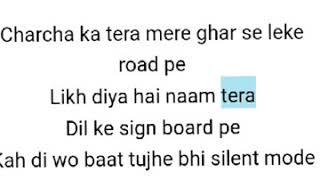 Silent Mode Song Lyrics | Dassehra Movie Songs | Mika singh , Shreya Ghosal - YouTube
