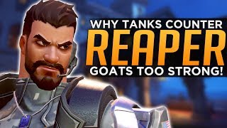 Overwatch: Reaper is Actually TRASH! - Why Tanks Counter Him