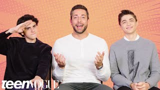 The Shazam! Cast Tests Their Superhero Movie Knowledge | Teen Vogue