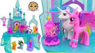 My Little Pony Crystal Empire Castle with Baby Flurry Heart, Princess Cadance, Shining Armor