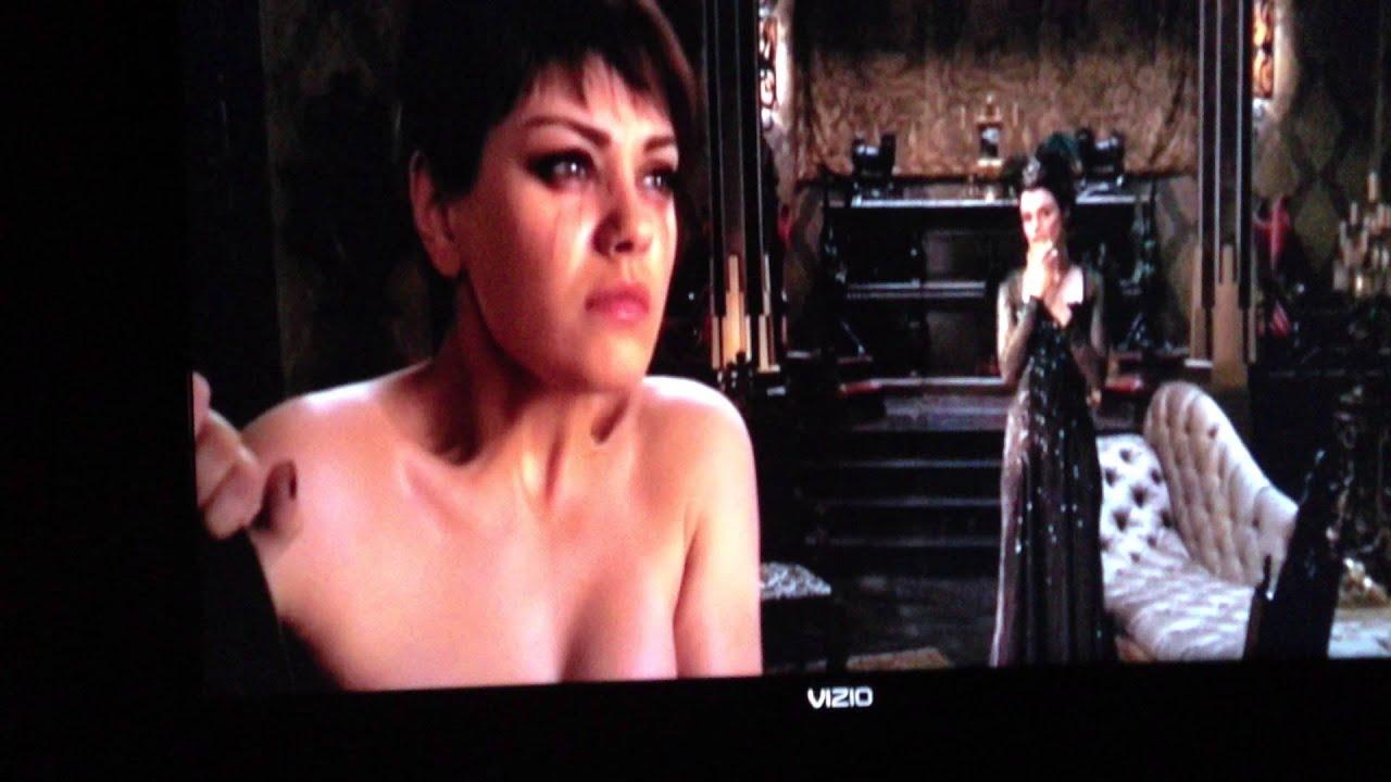 Theodora's Wicked Witch Transformation - YouTube