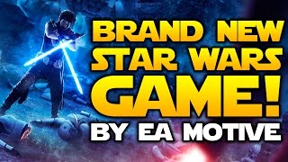BRAND NEW STAR WARS GAME Announced By EA Motive! | Star Wars HQ