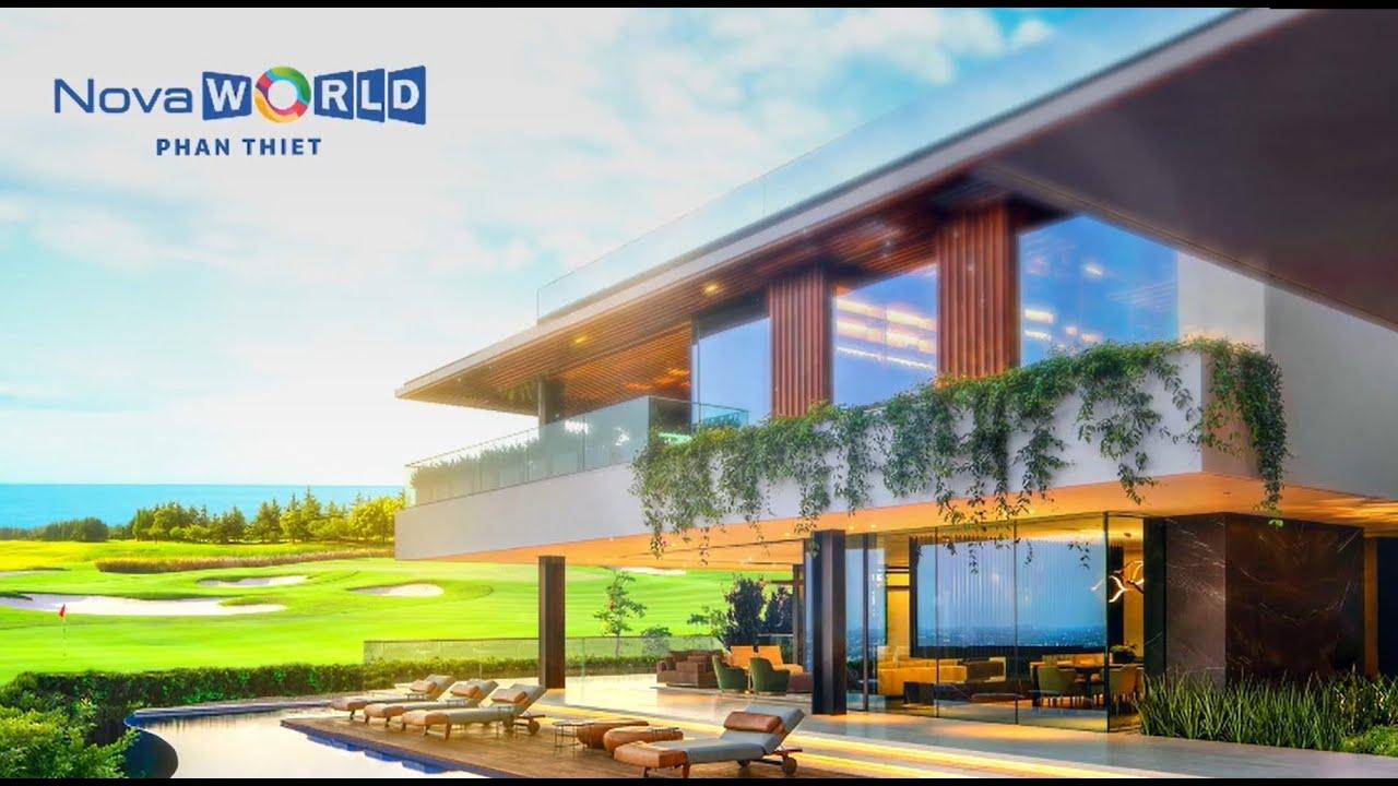 Biệt thự Waikiki - NovaWorld Phan Thiết - tầm nhìn hướng biển Hàm Tiến và công viên trung tâm 25 ha video