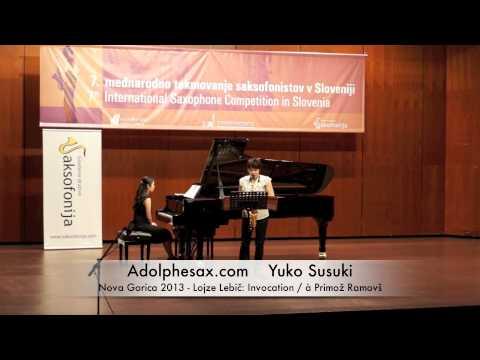 Yuko Susuki - Nova Gorica 2013 - Lojze Lebič: Invocation / à Primož Ramovš