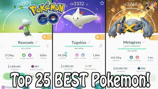 Top 25 BEST Pokemon To Power Up In 2019 In Pokemon GO! | Which Pokemon Are Worth Powering Up?! - YouTube