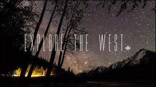 Explore the West - A Canadian 4K Timelapse Film