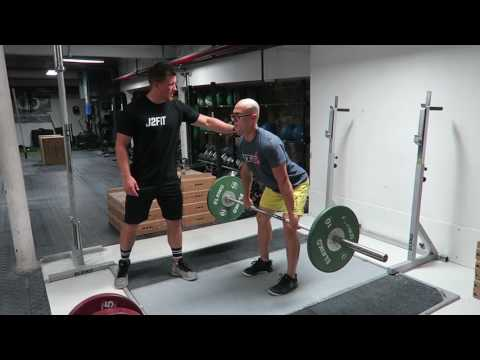 Hang Power Clean Demo