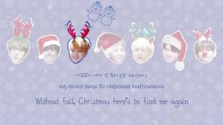 ⌈MERRY X-MAS⌋ BTS (방탄소년단) – A Typical Idol's Christmas [Color coded Han Rom Eng lyrics]