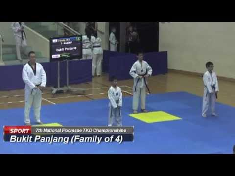 Bukit Panjang (Family of 4, 7th National Poomsae)