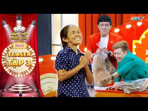 Thách thức danh hài 6 | Teaser tập 3: A Xìn khoái chí khi bà Tân Vlog hối lộ đồ ăn siêu to khổng lồ