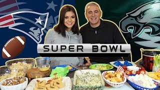 Buffalo Chicken Dip, Hot Dogs, Rice Krispies, Spinach Artichoke Dip & more! MUKBANG EATING SHOW