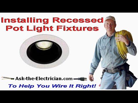 Recessed Lighting Flush Lights And Pot Light