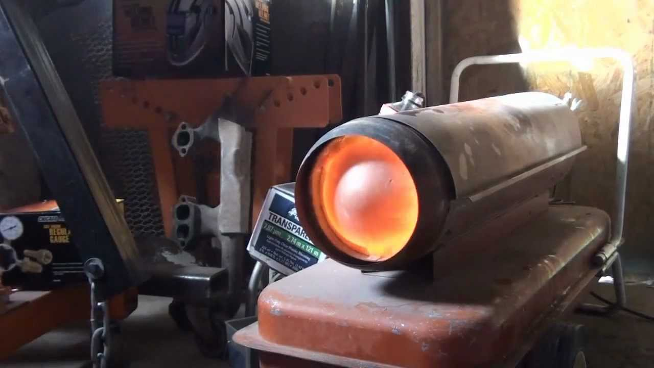 Converting A Shop Heater To Run On Waste Oils Part 1 Youtube