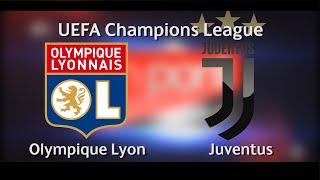 Olympique Lyon vs Juventus in UEFA Champions League