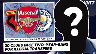 WE FOUND THE BIGGEST SNAKES IN WORLD FOOTBALL! (20 CLUBS EXPOSED) | #WNTT