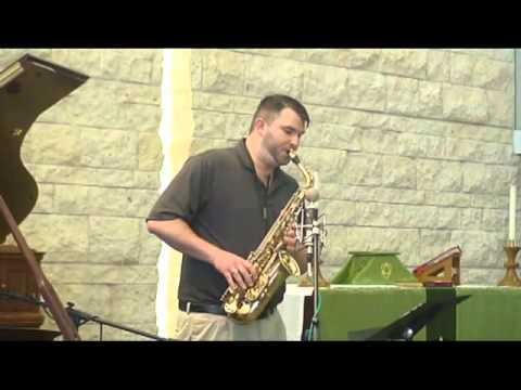 "Daniel Loudenback performs ""Der Holle Rache"" from Die Zauberflote on Saxophone"
