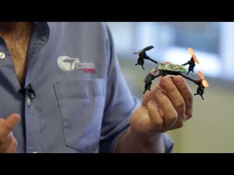 Cypress PSoC 5LP Bluetooth Quadcopter, A Minidrone Demo