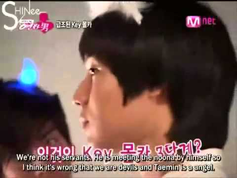 [eng sub] shinee pranks key - hidden camera