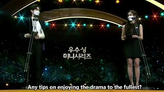[ENG] Jang Dong Yoon & Kim So Hyun Reunion at 2020 KBS Drama Awards + New Drama Teaser