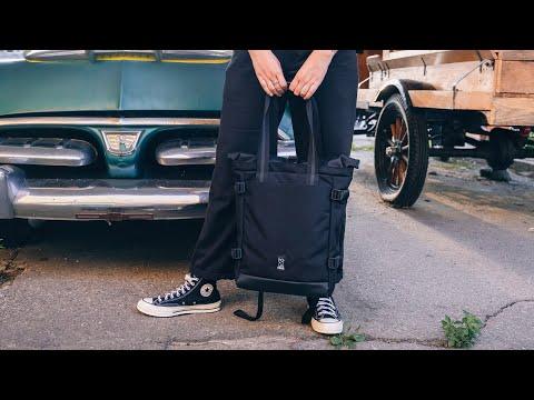 Video CHROME Bag LAKO 3 Way Tote BlackChrome