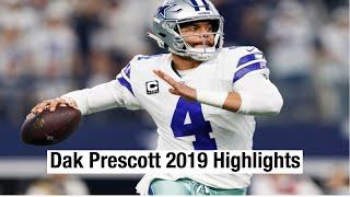 Dak Prescott 2019 Highlights/best throws and runs of the season
