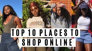TOP 10 PLACES TO SHOP ONLINE  Money Secrets   Styling on a Budget   StateofDallas