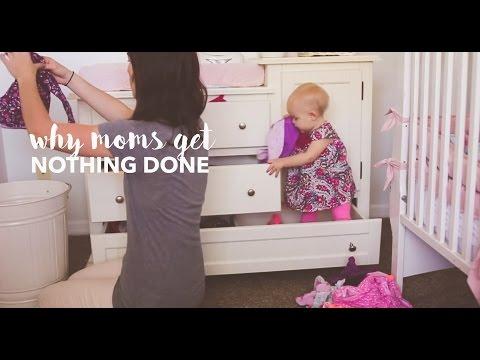 Зошто мајките никогаш не можат да ги завршат домашните работи?