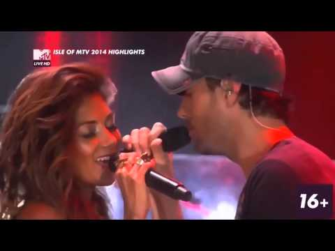 Enrique Iglesias and Nicole Scherzinger Heartbeat live from Isle of Mtv  HD 720p