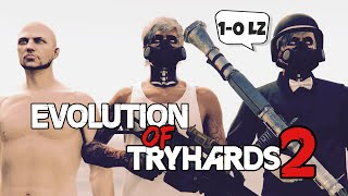 The Evolution Of Tryhards 2 | GTA Online
