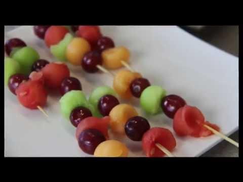 Khana Rozana : Fruit & cheese sticks