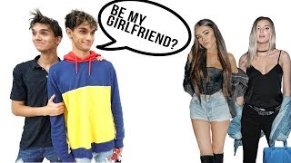 Asking STRANGERS To Be My GIRLFRIEND!