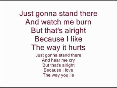 Baixar Eminem feat Rihanna - Love The Way You Lie (Lyrics on screen)