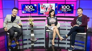 """Talkshow Quang Minh & Hồng Đào giới thiệu DVD """"100 Ngày Yêu"""" (Vietface TV)"""