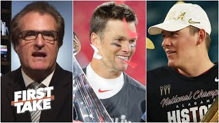 Why Mel Kiper Jr. is comparing Mac Jones to Tom Brady | First Take