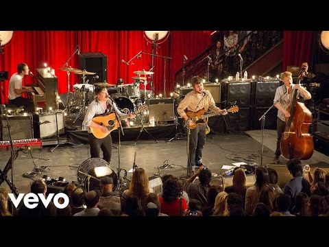 Mumford & Sons - I Will Wait (Live from the Artists Den) ft. Mumford & Sons
