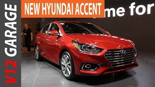 2018 Hyundai Accent Hatchback Interior Review