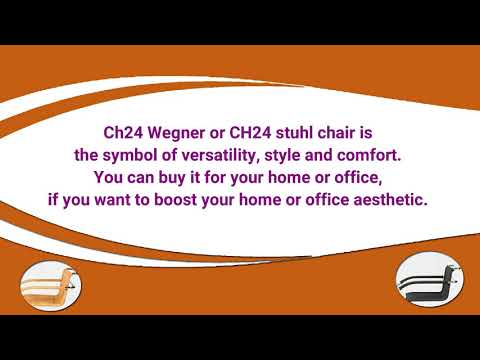 Give Your Home & Office A Beautiful Look With CH24 stuhl Chair