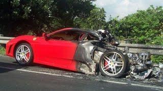 Tổng hợp tai nạn siêu xe đắt tiền nhất thế giới - crash super car ✔