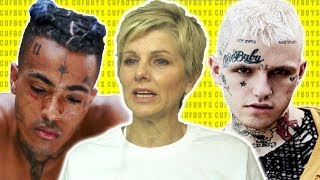 Mom Reacts to Lil Peep & XXXTENTACION - Falling Down